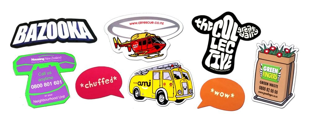 Custom Fridge Magnets come in all shapes and sizes including phone, helicopter, bus, and callouts