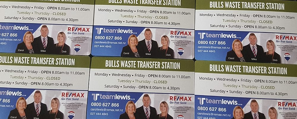 Personalised magnets are perfect for real estate agents